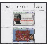 Upaep Suriname 2015 Lucha contra la trata MNH