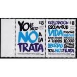 Upaep Argentina 2016 No a la trata MNH