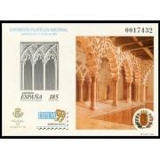 España Spain Prueba de lujo 68 1999 Zaragoza Exfilna 99