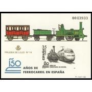España Spain Prueba de lujo 67 1998 Tren