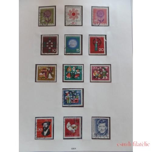 Collección Collection Alemania Federal Germany 1949 - 1986 usada completa
