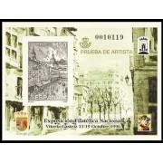 España Spain Prueba de lujo 61 1996 Vitoria Exfilna 96