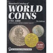CATÁLOGO MONEDAS WORLD COINS 1701 - 1800 7ª Edición