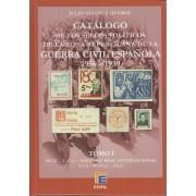 CATÁLOGO EDIFIL SELLOS POLÍTICOS DE LA ZONA REPUBLICANA 1936 - 1939
