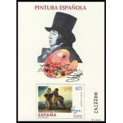 España Spain Prueba de lujo 60 1996 Goya Pintura 96