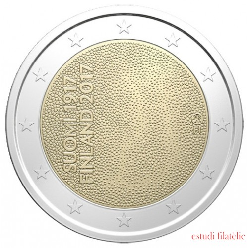 Finlandia 2017 2 € euros conmemorativos 100 Av. Independencia