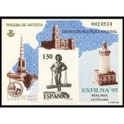 España Spain Prueba de lujo 35 1995 Exfilna 95