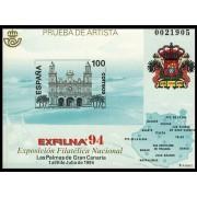 España Spain Prueba de lujo 33 1994 Exfilna 94