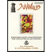 España Spain Prueba de lujo 30 1993 La Coruña Juvenia 93