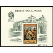 España Spain Prueba de lujo 19 1989 2ª tirada Toledo Exfilna 89