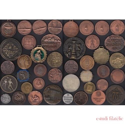Lote 21 Medallas  Años 70 - 80