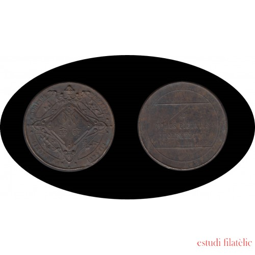 Medalla Escuelas Pias primera mitad s. XX