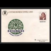 Sobres Enteros Postales 84 Exfilna 2003 raro agotado