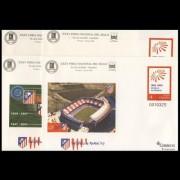 Sobres Enteros Postales 86 a/d Centenario Atlético Madrid 2003 Fútbol Football