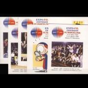 Sobres Enteros Postales 52 a/e  F. C. Barcelona 99