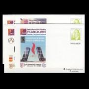 Sobres Enteros Postales 74 a/d Filatelia 2001
