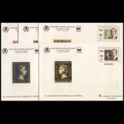 Sobres Enteros Postales 60/4 Feria Nacional Sello 2000