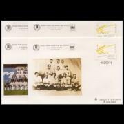 Sobres Enteros Postales 78 a/d Centenario Real Madrid 2002 Fútbol Football
