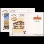 Sobres Enteros Postales 79 a/d Exfilna 2002