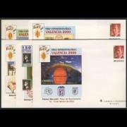 Sobres Enteros Postales 58 a/e  Valencia 2000
