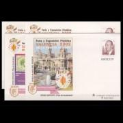 Sobres Enteros Postales 75 a/d Valencia 2002