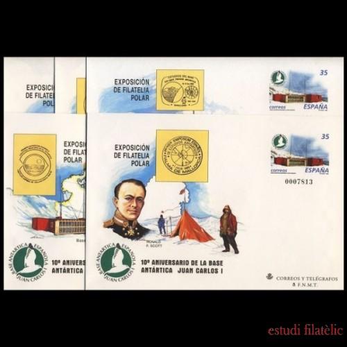 Sobres Enteros Postales 49 a/e Polar 1998