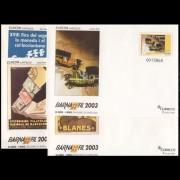 Sobres Enteros Postales 85 a/d Barnafil 2003