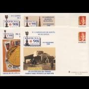 Sobres Enteros Postales 48 a/d Exfilna 98