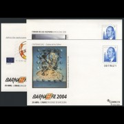 Sobres Enteros Postales 91 a/c Barnafil 2004 Dalí