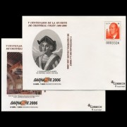 Sobres Enteros Postales 107/8  Barnafil 2006 Colón