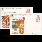Sobres Enteros Postales 89 a/b Filatelia 2003