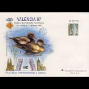 Sobres Enteros Postales 40 Valencia 97