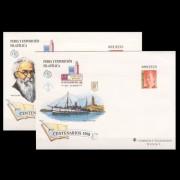 Sobres Enteros Postales 46/7 La Coruña 98