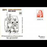 Sobres Enteros Postales  97 Feria Nacional Quijote 2004