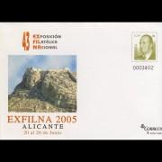 Sobres Enteros Postales 100 Exfilna 2005
