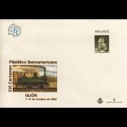 Sobres Enteros Postales 22 Gijón 94 coche car