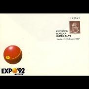 Sobres Enteros Postales 6 Expo 92