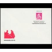 Sobres Enteros Postales 8 Granada 87