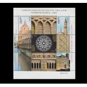 España Spain Minipliego 80 2002 Patrimonio de la Humanidad  Aranjuez Arte Mudéjar