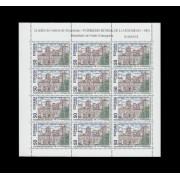 España Spain Minipliego 46 1993 Patrimonio de la Humanidad Monasterio Poblet