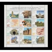España Spain Minipliego 77 2001 Patrimonio de la Humanidad