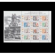 España Spain Minipliego 68 2000 150º Aniversario 1er Sello Español Rey Juan Carlos I