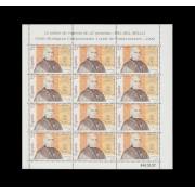 España Spain Minipliego 39 1992 Día del Sello Conde de Campomanes