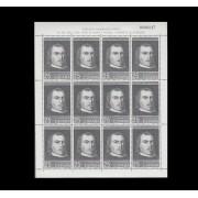 España Spain Minipliego 31 1991 Día del Sello Conde de Villamediana