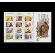 España Spain Minipliego 79 2002 Correspondencia Epistolar Historia Caballo Horse