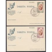 España Spain Entero Postal ( tarjeta ) 88/89 CIF 1960 Matasello Primer Dia Barco Boat