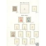 ESPAÑA COLECCION  1872 -1899 2600€