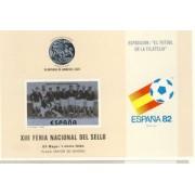 España Spain Hojitas Recuerdo 83 1980 FNMT ESPAÑA HOJITAS RECUERDO FNMT Nº 83 1980 FUTBOL