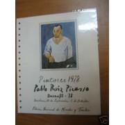 España Documento FNMT 6 Picasso Barnafil 1978