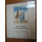 España Documento FNMT 17 Año Santo Compostelano